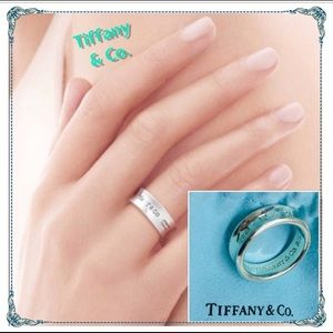 💎Tiffany & Co 1837 Silver Ring